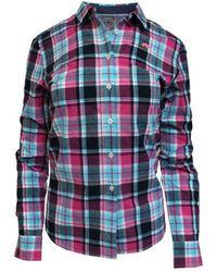 Raging Bull - Multicoloured Cotton Check Shirt - Lyst