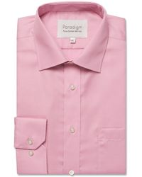 Double Two - Pink Single Cuff Cotton Shirt - Lyst