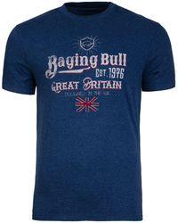 Raging Bull - Great Britain Denim T-shirt - Lyst