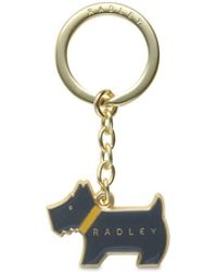 Radley - Dark Green 'pageant' Keyring - Lyst