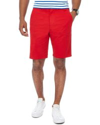 Racing Green - Bright Red Chino Shorts - Lyst