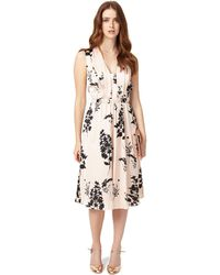 75ee6d4fd695 Phase Eight - Tatiana Printed Dress - Lyst