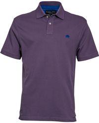 Raging Bull - Purple Signature Polo - Lyst