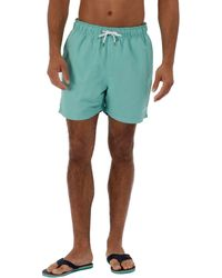 Regatta - Green 'mawson' Swim Shorts - Lyst