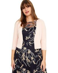 Studio 8 - Sizes 14-26 Blush Carrie Cover Up - Lyst
