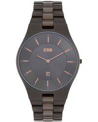 Storm - Gents Titanium Slim-x Xl Metal Strap Watch Slim X Xl Titan - Lyst