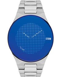 Storm - Men's Silver 'trionic-x' Bracelet Watch - Lyst