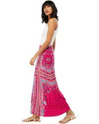 f801ccb50a Monsoon - Pink 'patsy' Print Maxi Skirt - Lyst