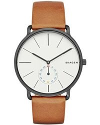 Skagen - Gents Tan 'hagen' Watch Skw6216 - Lyst