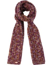 Regatta - Purple 'frosty' Knit Scarf - Lyst