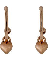 Pilgrim - Sophia Rose Gold Earrings - Lyst