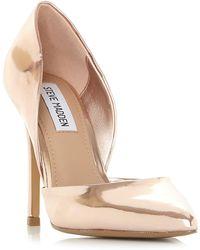 Steve Madden - Rose Suede 'vertigo' High Stiletto Heel Court Shoes - Lyst