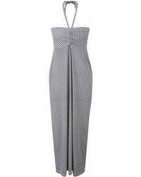 Craghoppers - Soft Navy Combo Nosilife Aurora Long Skirt Dress - Lyst