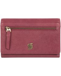 Conkca London - Orchid 'ling' Handcrafted Leather Purse - Lyst