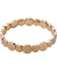 Pilgrim - Bella Rose Gold Bracelet - Lyst