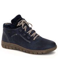 Josef Seibel - Blue 'steffi 13' Womens Casual Boots - Lyst