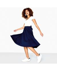 Girls On Film - Kennedy Bow Back Pleated Skirt - Lyst