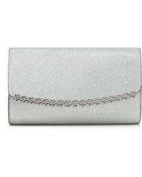Call It Spring - Silver 'pricia' Daisy Clutch Bag - Lyst