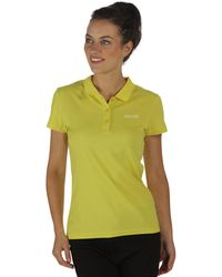 Regatta - Yellow Maverik Polo T-shirt - Lyst
