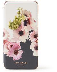 Ted Baker Neopolitan Telefoonhoes Voor Iphone 6 / 6s / 7 / 8 - Wit