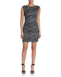 Rebecca Taylor Cheetahprint Sofia Sheath Dress - Lyst