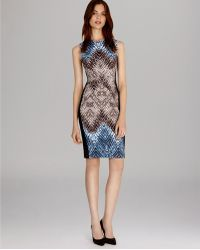 Karen Millen Dress - Signature Stretch Tribal Print - Lyst