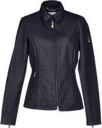 Geospirit Jacket blue - Lyst