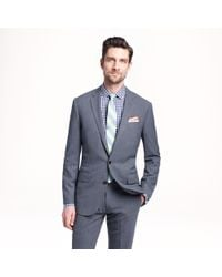 J.Crew Ludlow Traveler Suit Jacket in Italian Wool - Lyst