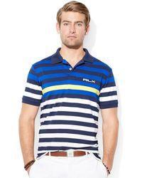 Polo Ralph Lauren Us Open Striped Polo - Lyst