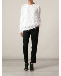 Chloé Fringed Top - Lyst