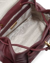 Badgley Mischka - Anne Flap-top Leather Backpack - Lyst