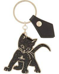 Vivienne Westwood Kitten Keyring - Lyst