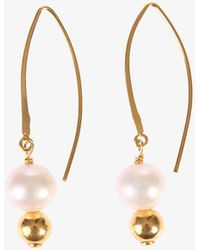 Magda Butrym - Pearls Earrings - Lyst