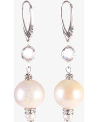 Magda Butrym - Silver Pearls Earrings - Lyst