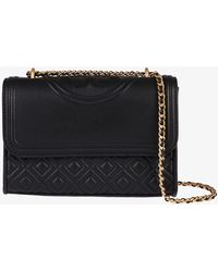 Tory Burch - Fleming Small Leather Shoulder Bag - Lyst