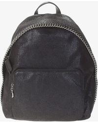 d7cd8b9bd13c Stella McCartney - Falabella Shaggy Deer Faux Leather Backpack - Lyst