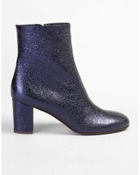 a50bd15b3d4d L Autre Chose - Metallic Leather Ankle Boots - Lyst