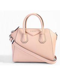 c0acd8b33c Lyst - Givenchy Small  antigona  Bag in Pink