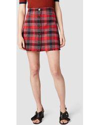 Derek Lam - A-line Mini Skirt - Lyst