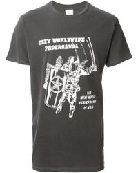 Obey Worldwide Propaganda T-shirt - Lyst