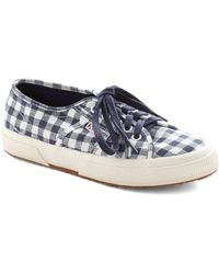 ModCloth Picnic For One Sneaker in Navy - Lyst