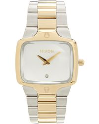 Nixon Player Two Tone Watch - Lyst