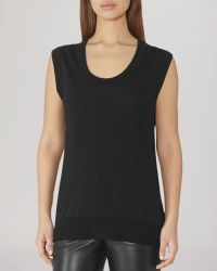 Reiss Tank - Sevan Scoop Knit - Lyst