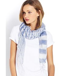 Forever 21 - Nautical Striped Scarf - Lyst