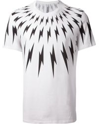 Neil Barrett Repeat Lightning Pattern - Lyst