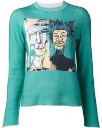 Lucien Pellat Finet - 'jean-michel Basquiat' Pullover - Lyst
