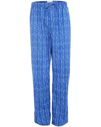 Calvin Klein All Over Logo Pant - Lyst