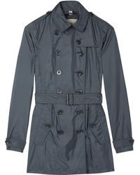 Burberry Brit Dorsleigh Pack Away Brit Rainwear Trench - Lyst