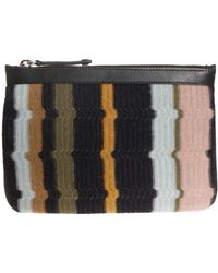 Missoni Geometric Small Pouch - Lyst