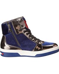 Love Moschino Love High Top Sneaker - Lyst
